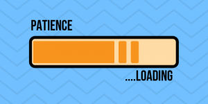 Patience... Loading - showing the benefits of patience when rehabbing a sports injury