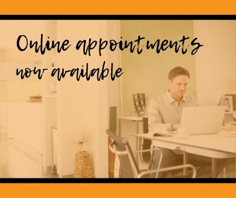 Online appointments are now available